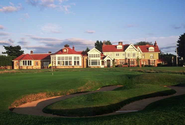 Muirfield golf links course Scotland